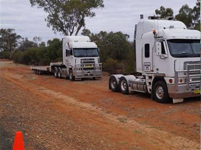 Outback Recovery Services tow trucks and fleet