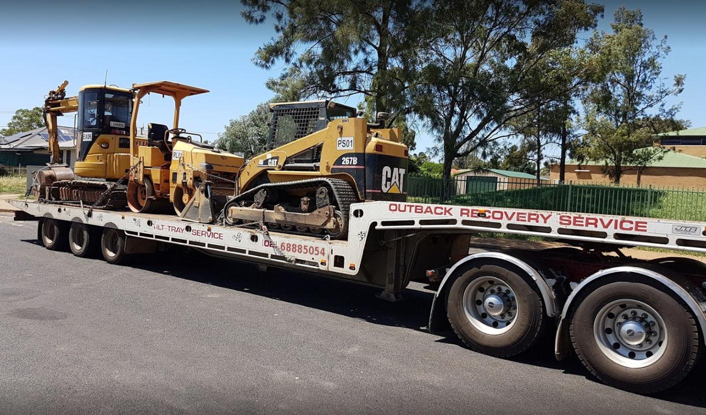 Heavy machinery haulage Dubbo NSW